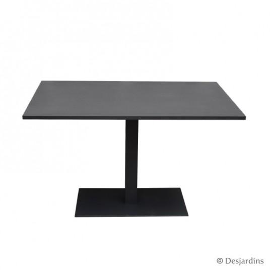 "Table ""Bristol"" 120 x 80 cm - Gris anthracite - DESJARDINS"