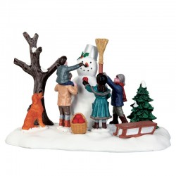 "Scène ""Victorian Snowman"" -..."