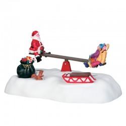 """Scène """"Santa's seesaws"""" -..."""