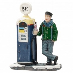 "Figurine ""At The Gas Pump""..."