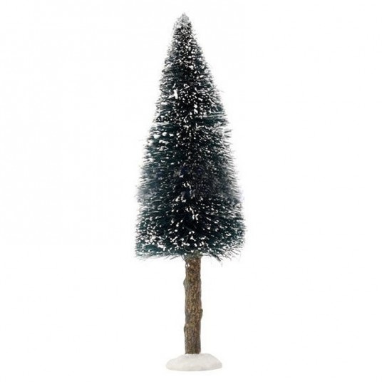 "Arbre ""Bristle Tree on Log Green"" - 20 cm - LUVILLE"