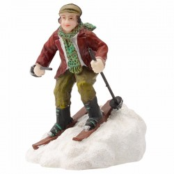 "Figurine ""Andre Is Skiing""..."