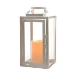 """Lanterne flamme """"métal..."""