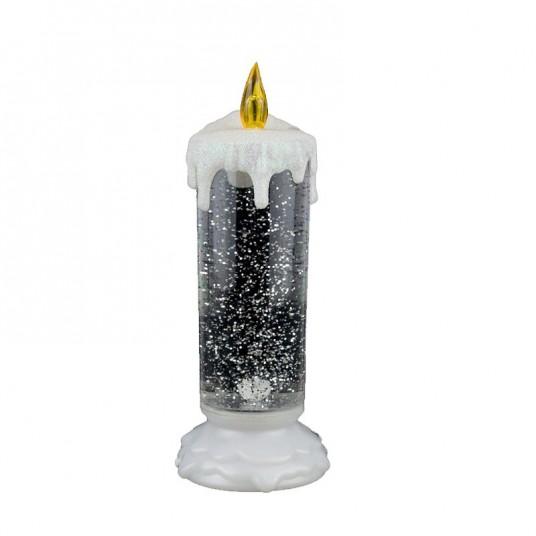 Bougie acrylique led - 24 cm- LUMINEO