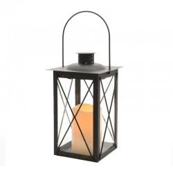 """Lanterne flamme """"métal"""" -..."""