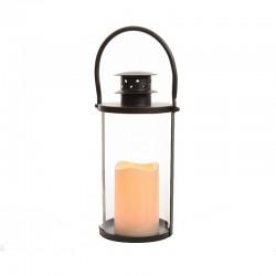 "Lanterne ""flamme"" ronde -..."