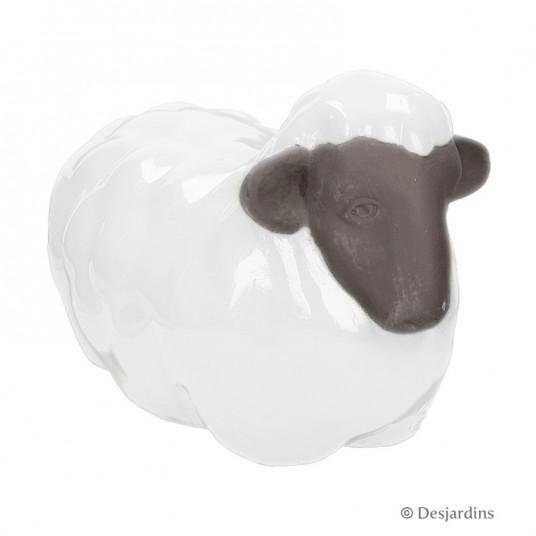 """Mouton couché """"grand modèle"""" - DESJARDINS"""