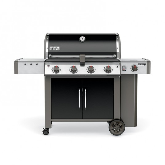 "Barbecue gaz ""Genesis II LX E-440 GBS"" noir - WEBER"