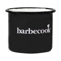 Tasse émail noir - BARBECOOK
