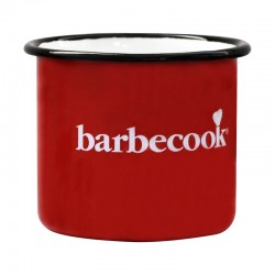 Tasse émail rouge - BARBECOOK