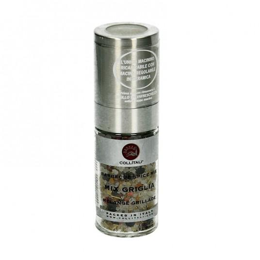 Moulin Chef mélange sel/poivre grillades - 65 g - COLLITALI