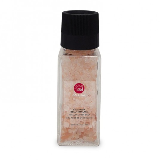 "Moulin ""sel rose de l'Himalaya"" - 100 g - COLLITALI"