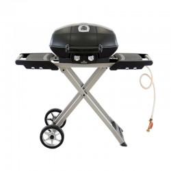 Barbecue gaz sur chariot...