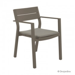 "Fauteuil ""Cardiff"" - Taupe..."