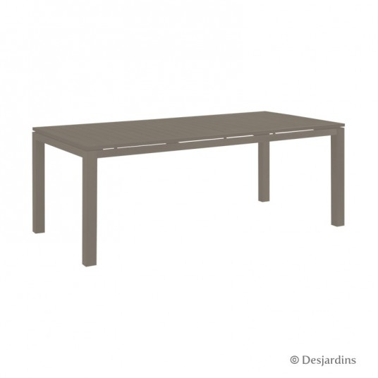 "Table ""Cardiff"" 200 x 100 cm - Taupe - DESJARDINS"
