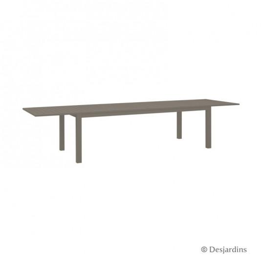 "Table extensible ""Cardiff"" - marron - DESJARDINS"