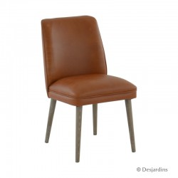 Chaise haute - marron clair...