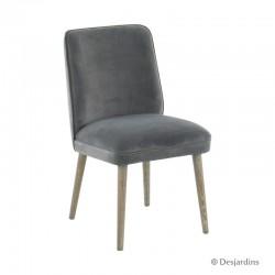 Chaise haute - gris -...