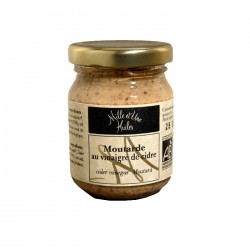 Moutarde à l'ancienne Bio au cidre