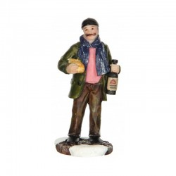 "Figurine ""Buying a baguet""..."