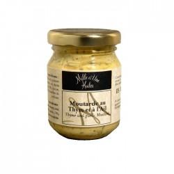 Moutarde au thym et à l'ail - 100g