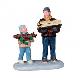 """Figurine """"Firewood for the..."""