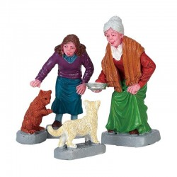 "Figurine ""Cream Kitty"" - LEMAX"