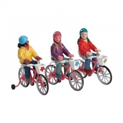 "Figurine ""Bike ride"" - LEMAX"