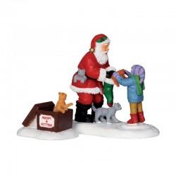 """Scène """"Santa and Kitten"""" -..."""