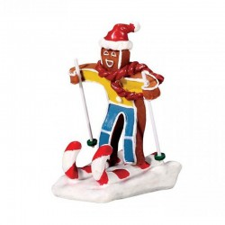 "Figurine ""Candy Cane Skier""..."