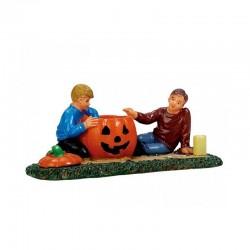Figurine Pumpkin Carving de la marque Lemax