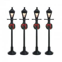 GAS LANTERN STREET LAMP SET...
