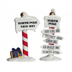 "Décor ""North Pole Signs"" -..."