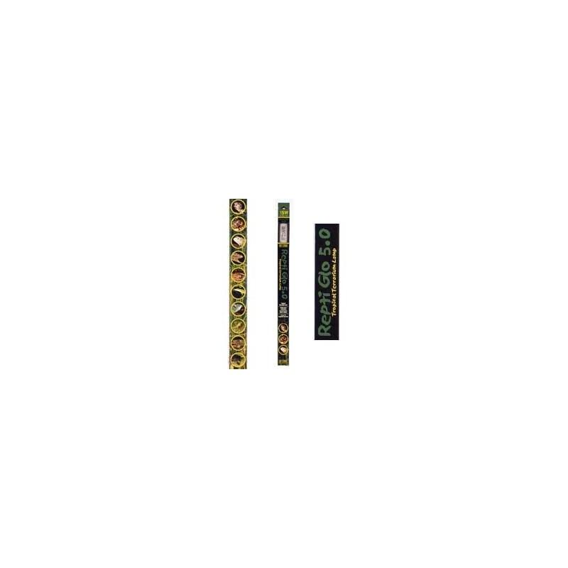 Tube Repti Glo Exo Terra 5.0 - 45 cm/15 W/T5 - Hagen
