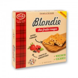 Blondie aux fruits rouges -...