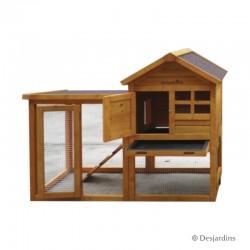 Poulailler en bois - 122 x...