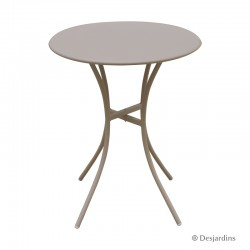 Table métal - Ø60 cm -...