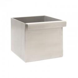 Récupérateur carré - inox -...