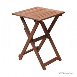Table bois - 50x50 cm -...