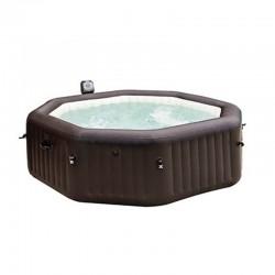 spa pure spa jets bulles 4 places octogonal intex. Black Bedroom Furniture Sets. Home Design Ideas