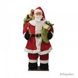 Père Noël musical - 160 cm...