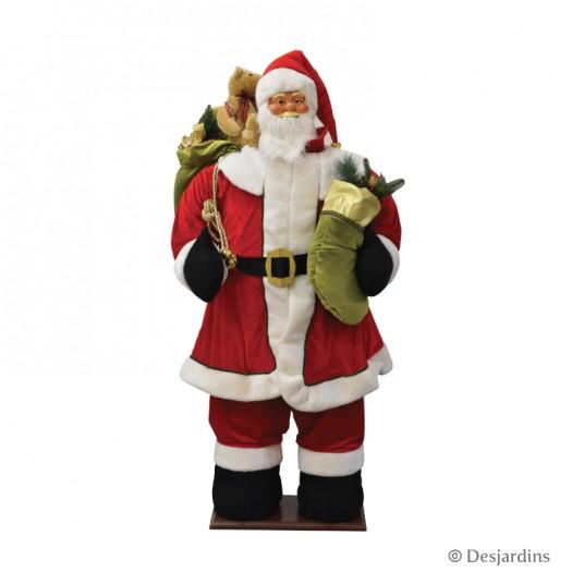 Père Noël musical - 160 cm - DESJARDINS