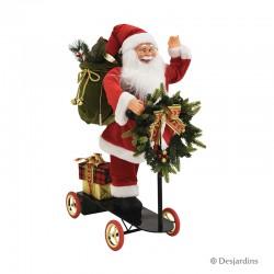 Père Noël trotinette - 60...