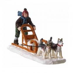 """Scène """"Dog sleigh"""" - LUVILLE"""