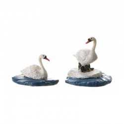 "Figurines ""Swans"" - LUVILLE"