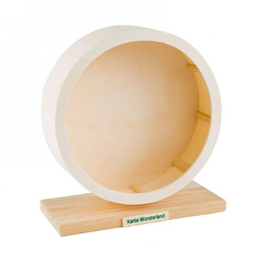 Roue en bois pour rongeurs - 30 cm