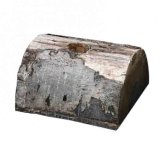 Demi-bûche pour sapin - trou Ø5 cm