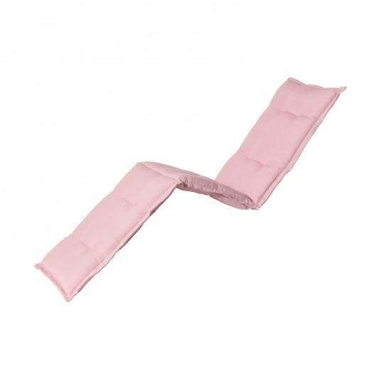 """Coussin pour bain de soleil """"Panama Soft Pink"""" 200 x 65 cm - MADISON"""