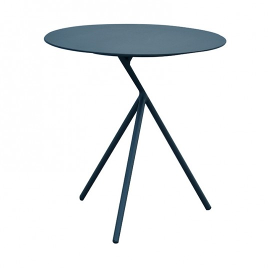 "Table d'appoint ""Sheffield"" Ø44 cm - Gris - DESJARDINS"