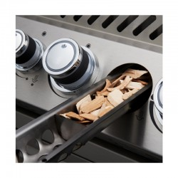 Barbecue au gaz PRO 825 encastrable inox de la marque Napoléon